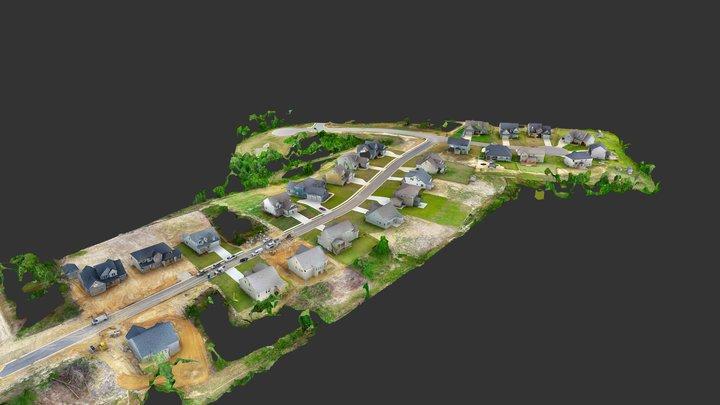 Glencourse Way, Fayetteville NC - Stonegate 3D Model