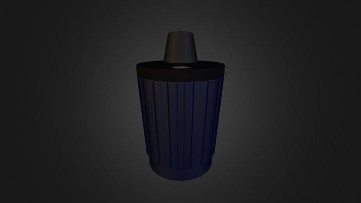 Rotary Lead Sharpener 3D Model