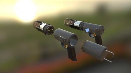 Ion Cannon 3D Model