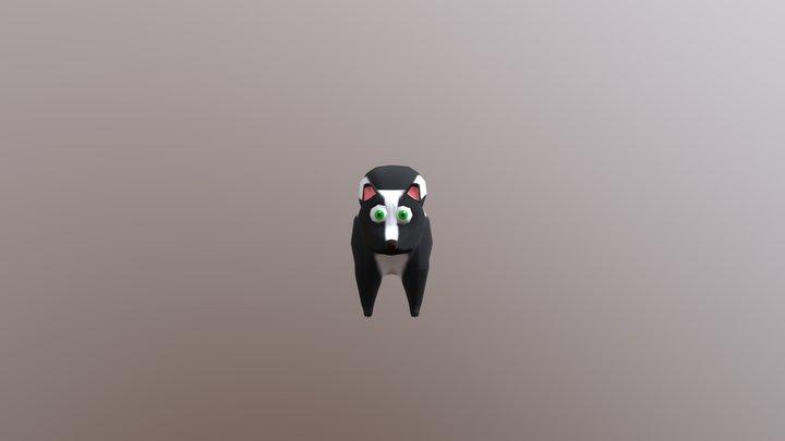 Skunk Spray Animation 3D Model