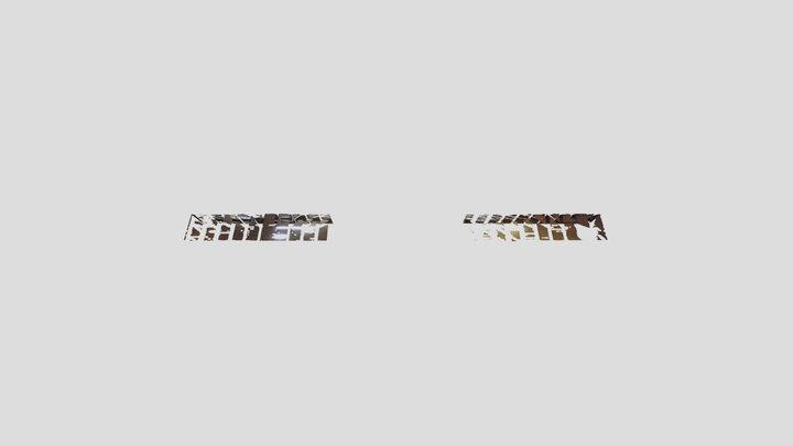 Railway Roof 3D Model
