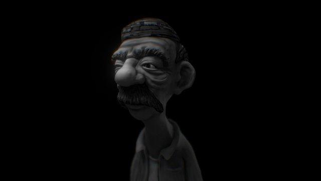 MustacheGuy_sketch 3D Model