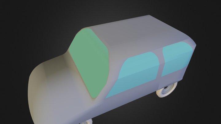 Coche Laura 3D Model