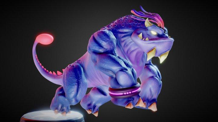 Morlok  Circus Creature 3D Model