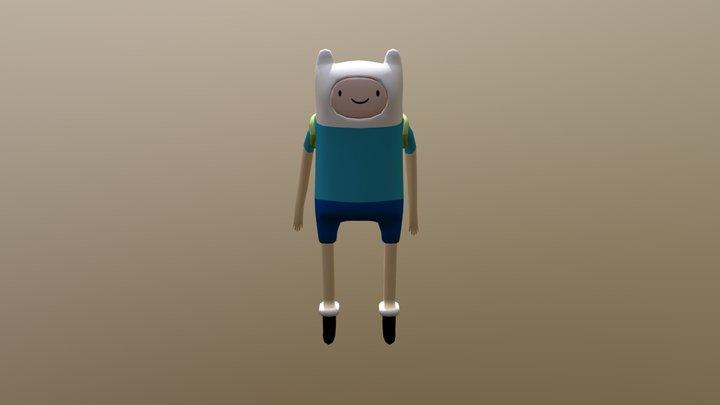 Finn I Animation 3D Model