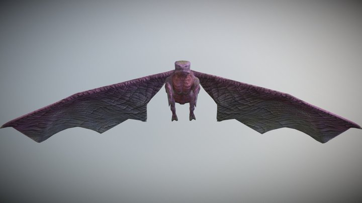Flying Beast (LowPoly) 3D Model