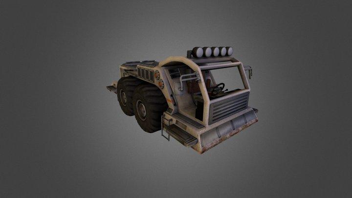 Vehicle prototype for Sanctum 2  3D Model