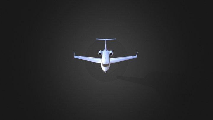 Gulfstream III 3D Model