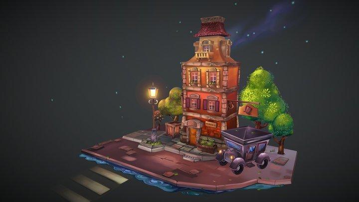 major house 3D Model