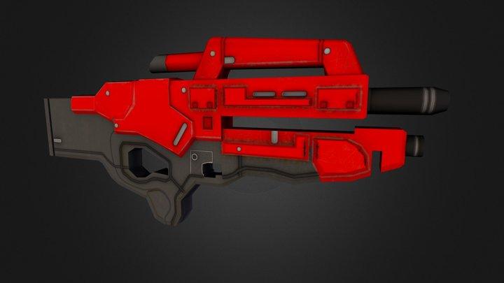 M-96 Mattock 3D Model