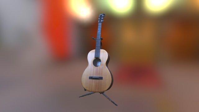 Guitar - Matt Finish 3D Model