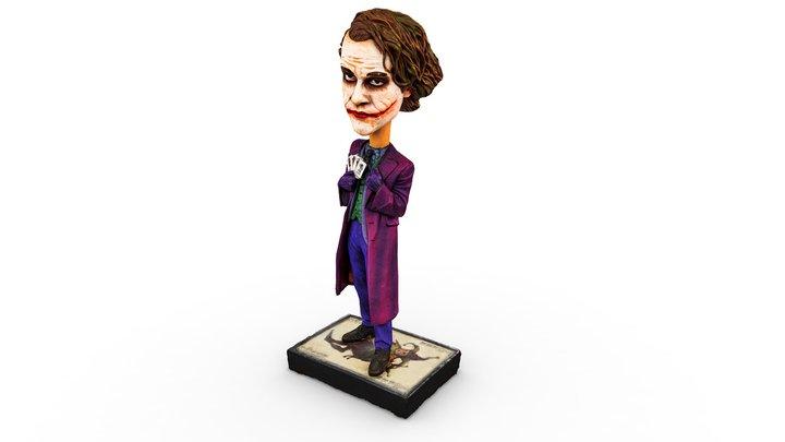 Batman: The Dark Knight Joker Bobblehead 3D Model