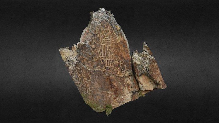 Trail Lakel Petroglyph Panel