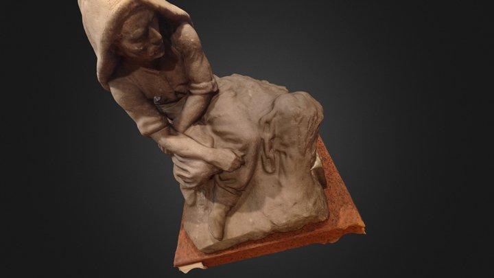 Talla en Piedra 3D Model
