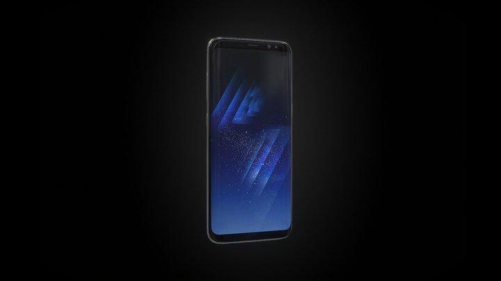 Samsung S8 3D Model