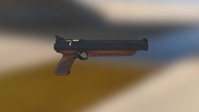 Crosman American Classic Pump Air Pistol 3D Model
