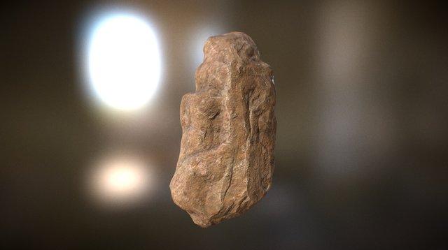 Rock Long 3D Model
