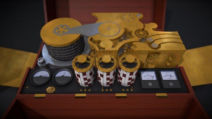 Máquina do Tempo - (Dark Time Machine) 3D Model