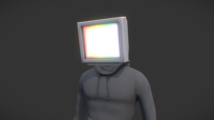 CRT Man 3D Model