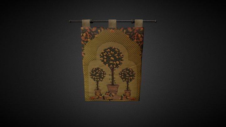 Tapiz/Tapestry 3D Model