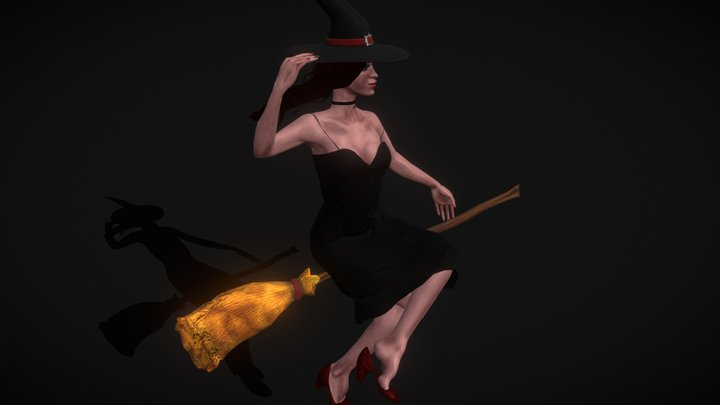 Bewitched 3D Model