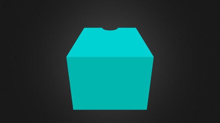 Block 'C' 3D Model