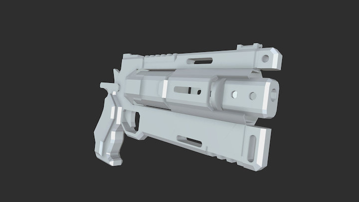Titanfall 2: B3 Wingman - WIP 3D Model