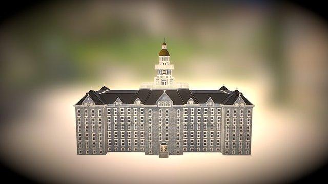 Penn State University 1922: Old Main 3D Model