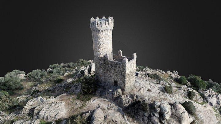 Watchtower of Torrelodones 3D Model