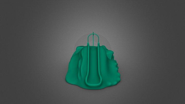 Large Mound Sketch Fab 3D Model