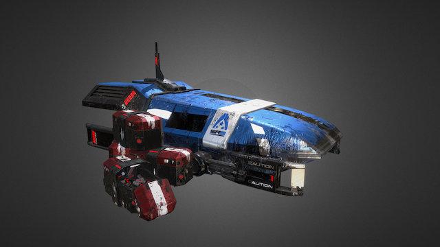 Mass Effect 3 Scene 3D Model