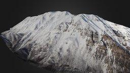 Mount Timpanogos Early 2017 3D Model