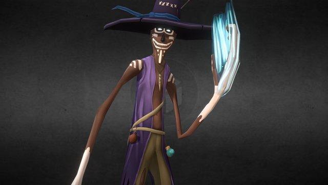 Voodoo Master 3D Model