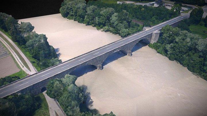 Wiesinger Innbrücke, Tirol 3D Model