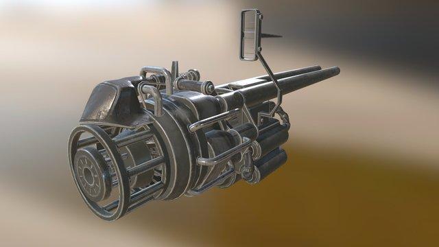 Puckle 1718 3D Model