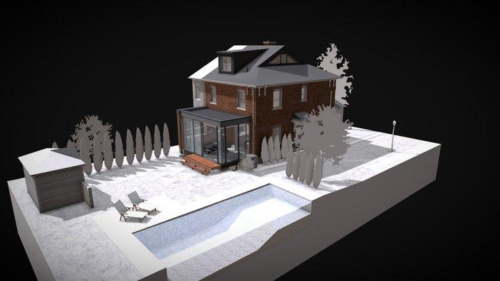 Winter Garden 3D Model