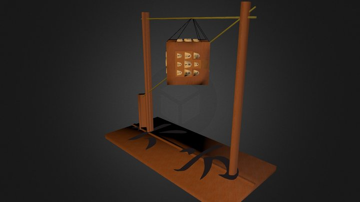 Roppo Shogi 「六方将棋」 3D Model