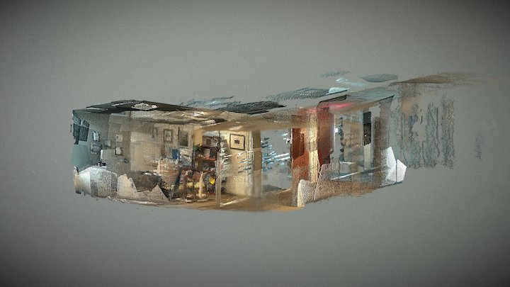 Misha office1 point cloud 3D Model