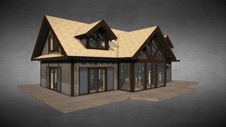 Niels Summerhouse 3D Model