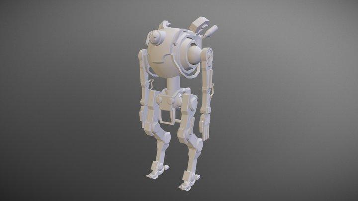 Work-in-Progress Northstar Titan 3D Model
