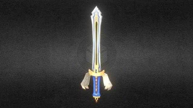 Wing sword 3D Model