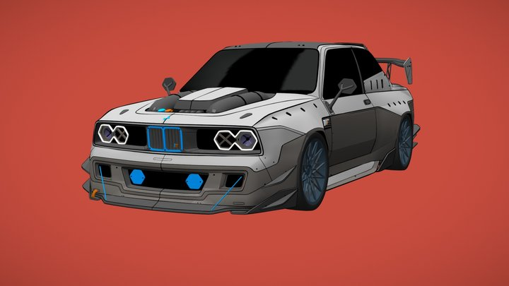 Dirty Thirty M3 3D Model