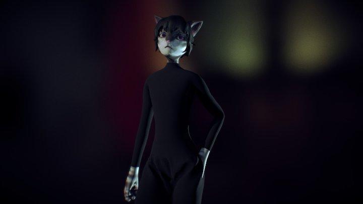 The Cat 3D Model