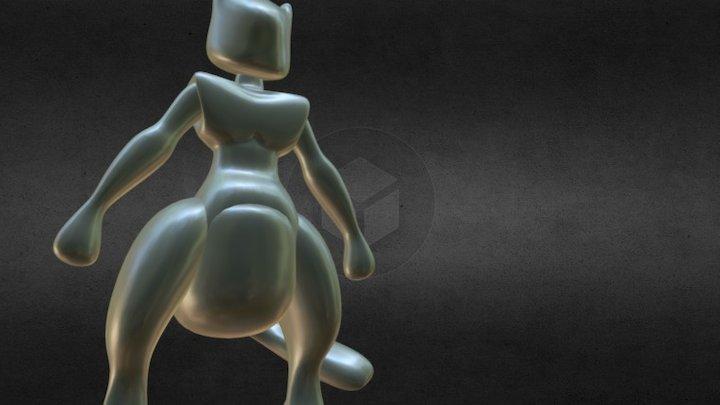 Mewtwo 3D Model