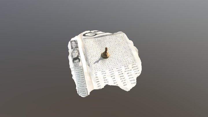 Reine blanc 3D Model