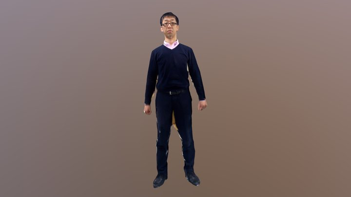 Full body Suemoto 3D Model