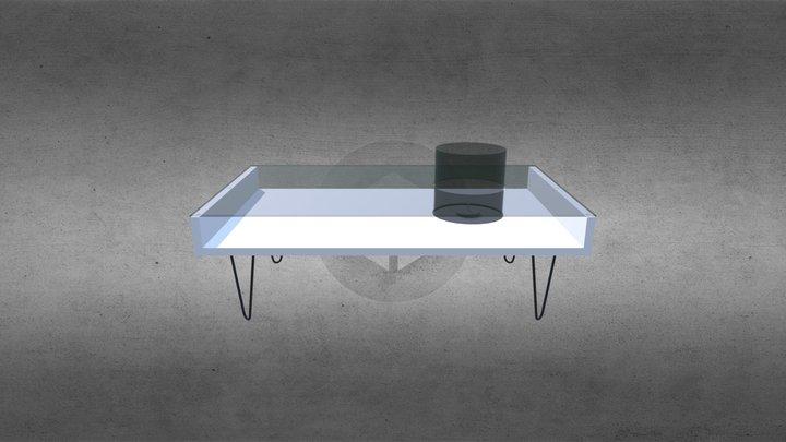 Fire Coffee Table 3D Model