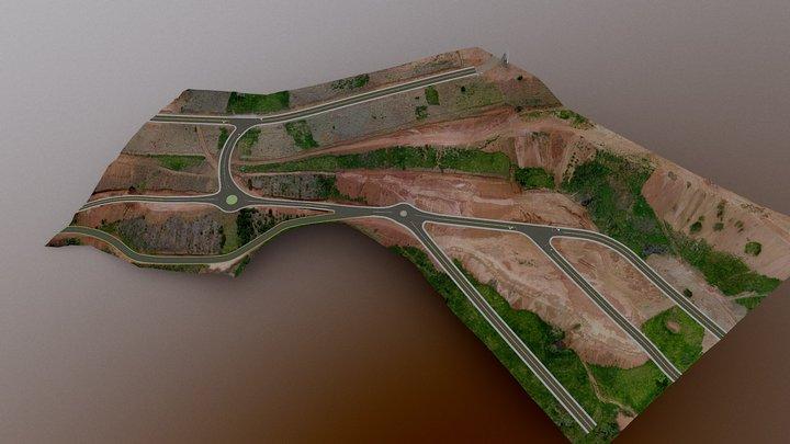 Loteamento apresentação rotatorias apresentação 3D Model