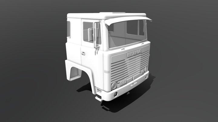 Scania 141 Cabin 3D Model