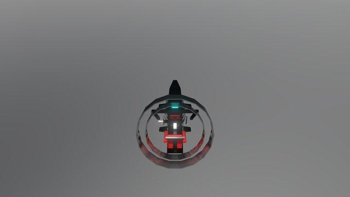 Spectral Racer 3D Model